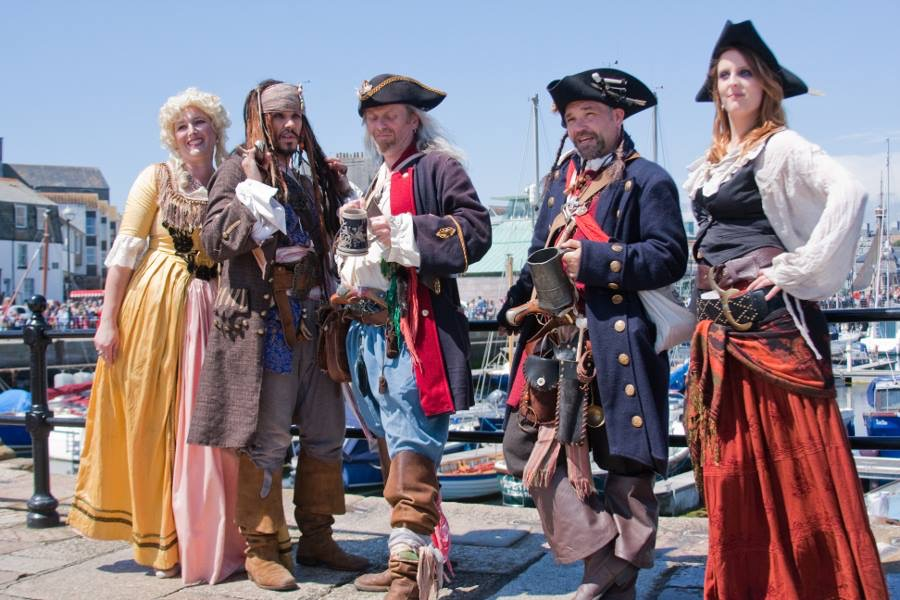 Brixham-Pirate-Festival-2019-Stay-at-the-Channel-View-Boutique-Hotel Events in Torbay during May and June